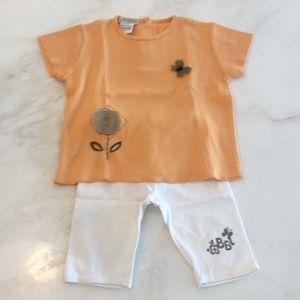 I Cuccioli Baby Graziella Girls Tee